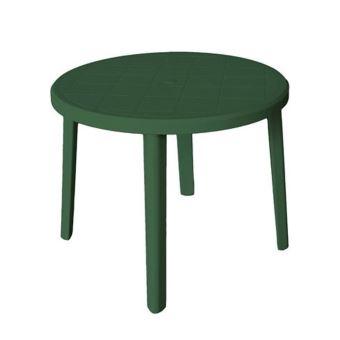 verte d'extérieur en jardin Table basse résine 90xh70cm mobilier ronde ZeusV bgv6yYfmI7