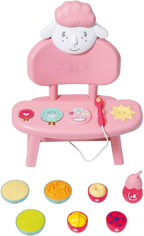 Zapf Creation 701911 Baby Annabell Lunch Time Table Multicolore