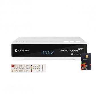Décodeur TNT HD Récepteur Satellite CAHORS TEOX HD