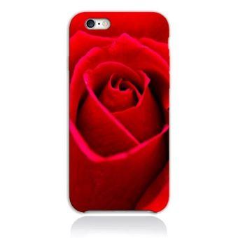 coque iphone 8 rose rouge