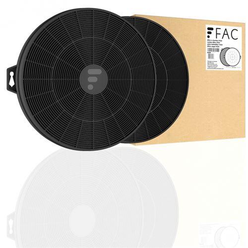 Fc04 - filtre à charbon compatible hotte elica mod. 290, cod. F00315/s et f00337/s