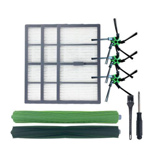 Kit Accessoires aspirateur pour irobot S9/S9+ Brosse de nettoyage vert