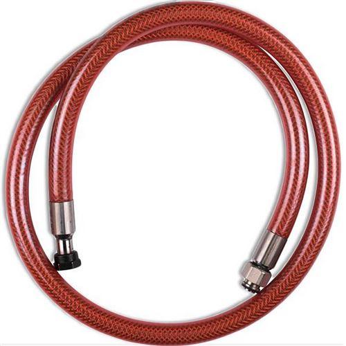 Flexible VISSINOX gaz butane propane long. 1m durée de vie illimitée Four, cuisinière 481281729753 WPRO - 97543