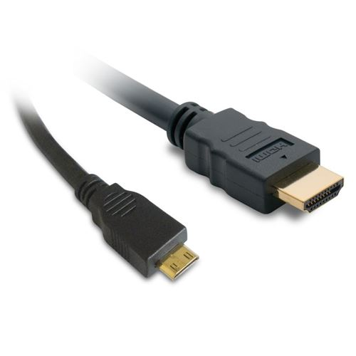 Câble HDMI / mini-HDMI High-speed METRONIC 470272 1,5m noir