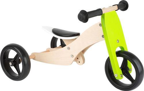Tricycle-Draisienne en bois Trike 2 en 1 - 11255