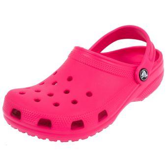 Crocs 204536 Sandales Enfant Rose Rose - Chaussures Sandale