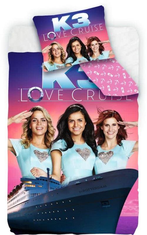 Studio 100 housse de couette K3 amour Cruise 140 x 200 cm rose