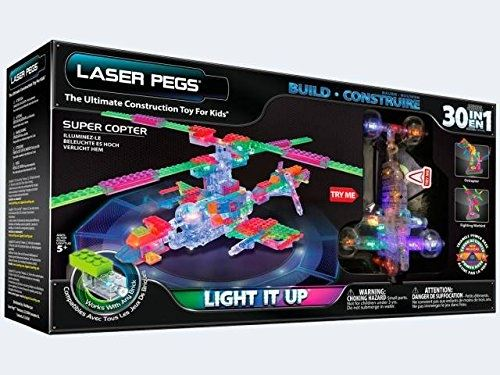 Templar 30 in 1 Super Copter Laser Pegs