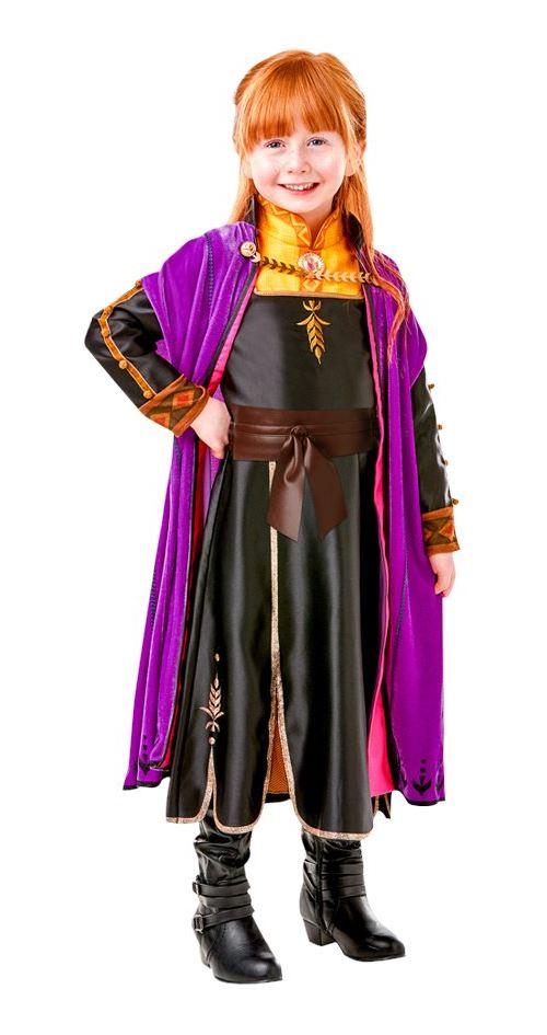 Costume classique Disney La Reine des neiges Anna Taille M