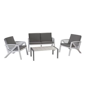 Salon de jardin lounge sunday corfou design grosfillex ...