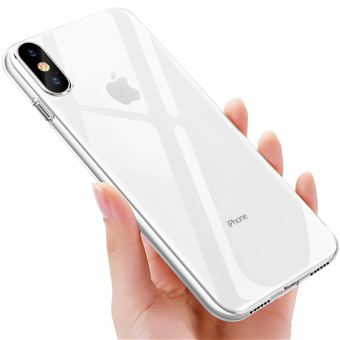 INECK Coque de Protection pour Apple iPhone X Transparent Ultra Fine Resistant Aux Rayures