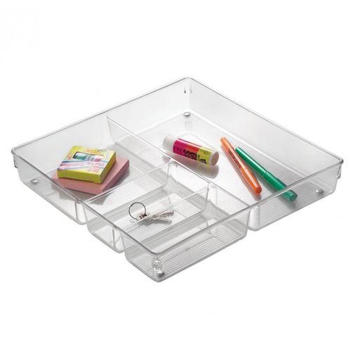 Organisateur pour tiroir transparent - Interdesign - Rangement multi fonctions