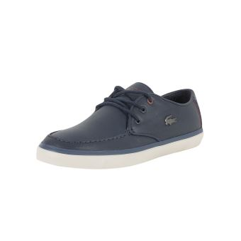 567ac1d4f1 Lacoste Homme Sevrin 417 1 CAM Chaussures de sport en cuir, Bleu -  Chaussures et chaussons de sport - Achat & prix | fnac