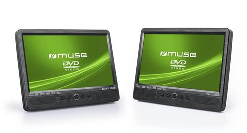 Muse M-1095 CVB Portable DVD Player Convertible - Lecteurs DVD/Blu-Ray Portables (Portable DVD Playe