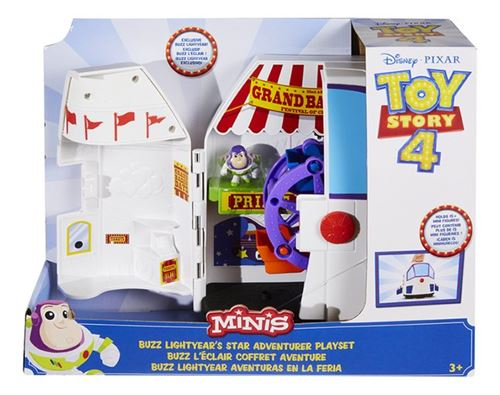 Playset Toy Story 4 Buzz l'Éclair Aventure