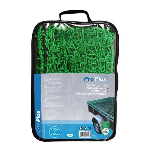 ProPlus filet de remorque 250 x 400 cm vert