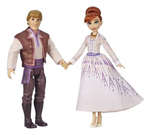 Poupée Disney Frozen La Reine des Neiges 2 Romance entre Anna et Kristoff