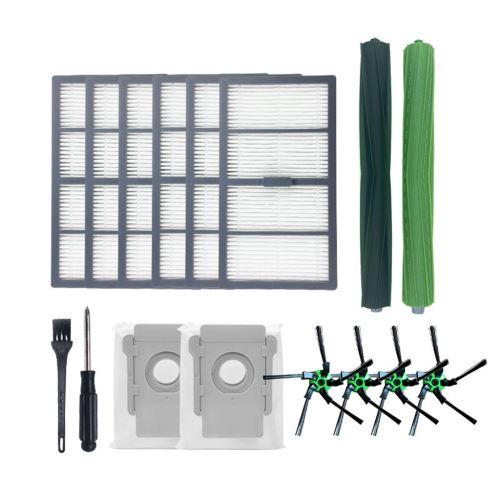 Kit Accessoires aspirateur pour irobot S9/S9+ Brosse de nettoyage Couleur