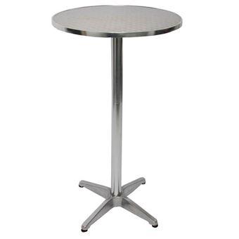 Table Haute De Bar Bistrot M28 Aluminium O 60cm Hauteur 70