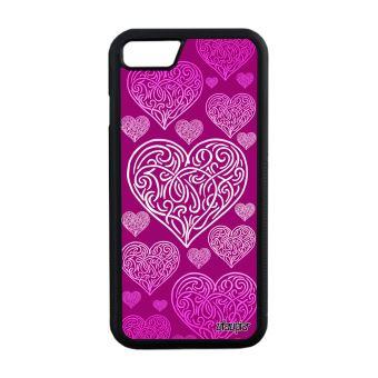 coque rose coeur iphone 7