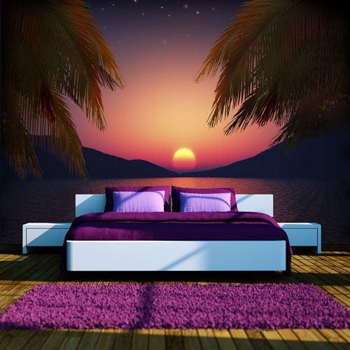 papier peint - soir romantique - artgeist - 100x70