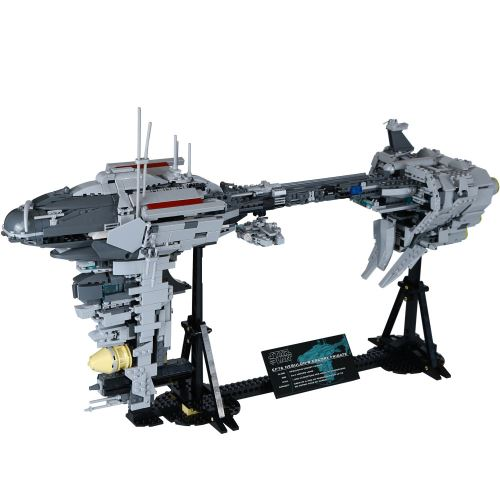 LEPIN 05083 1736 pcs Star War Series MOC Le Nebulon Modèle B Set Medical Frégate Blocs de Construction Kit