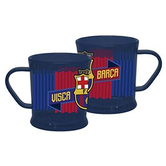 Fc Achat Barcelone Tasse Plastique Barça Mug Transparent Visca 4jL35RAq