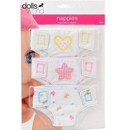 Dolls World Couche en Tissu pour poupées