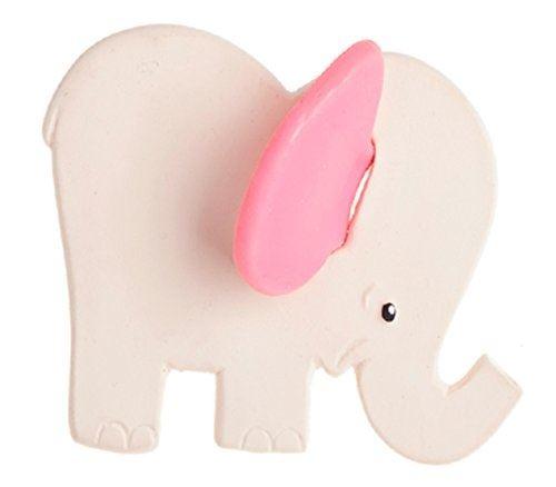 Figurine Lanco Eléphant Rose de dentition
