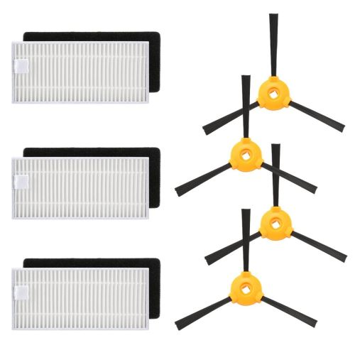 Filtres côté brosse et Hepa pour Ecovacs DEEBOT N79 N79S robotique Aspirateur