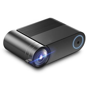 Nouveau projecteur 1080P Home Cinema USB HDMI AV SD Portable Noir RA007