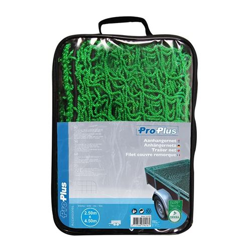 ProPlus filet de remorque 250 x 450 cm vert