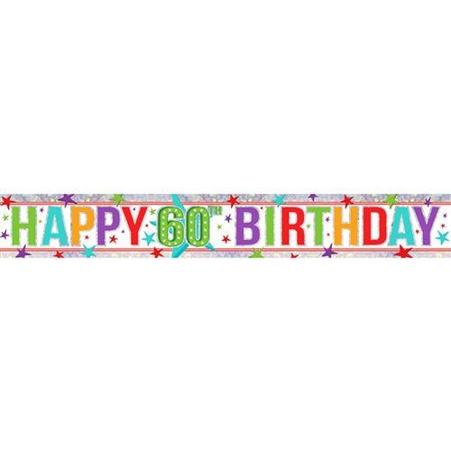 Amscan - Bannière anniversaire (Taille unique) (Multicolore) - UTSG12404