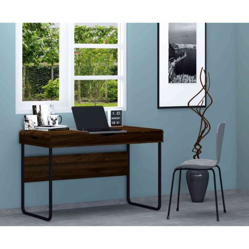 Bureau à tiroirs de rangement multiples en bois - BU4016