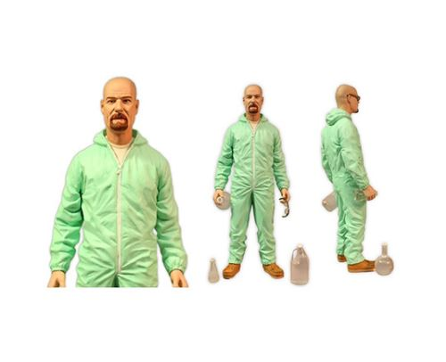 15 cm Figurine Walter White Red Shirt Previews Exclusive Breaking Bad