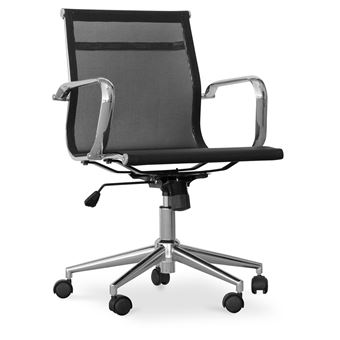 Et T17 Bureau Blanc Chaise Maille Métal Myfaktory De Roues e92IHWEDYb