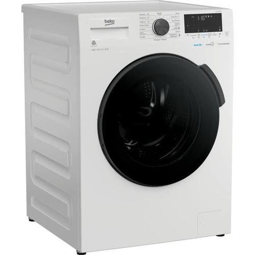 Beko WTS7200WDOS - Machine à laver - indépendant - largeur : 60 cm - profondeur : 55 cm - hauteur : 84 cm - chargement frontal - 50 litres - 7 kg - 1200 tours/min - blanc