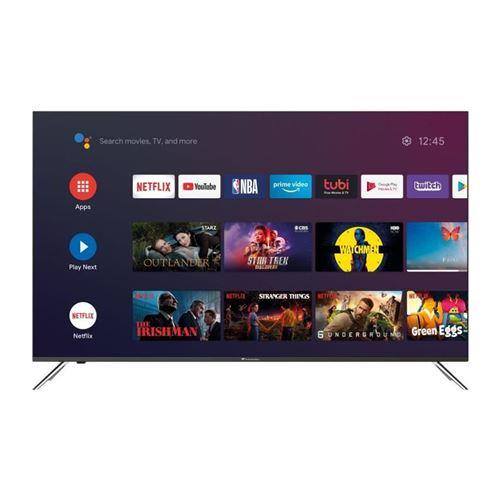 Plus de détails continental edison tv qled - 125,6 cm (50) - 4k uhd borderless