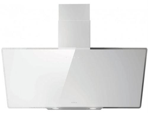Elica Shire WH/A/90 monté muraux B Blanc – Hotte (mural, canalizado, B, LED, blanc, toucher) [Classe énergétique B]