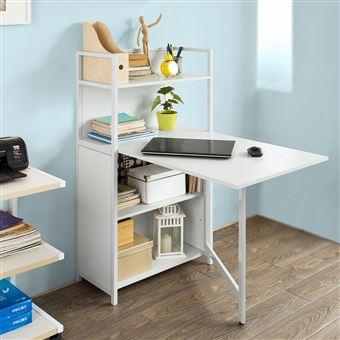Sobuy fwt12 w table pliante armoire avec table pliable - Ikea table pliante cuisine ...
