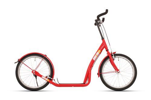 Bike Fun step Marches 20 pouces Unisexe V-Brake Rouge