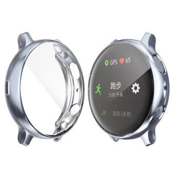 Coque en TPU tout autour couleur du pistolet pour votre Samsung Galaxy Watch Active 2 44mm