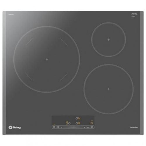 Plaque à Induction Balay 3EB865AQ 60 cm Anthracite (3 zones de cuisson)