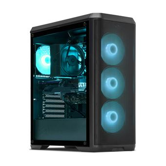 PC Gaming Intel i7-8700, GTX 1060, 16 Go RAM DDR4, 500 Go SSD, 2 To HDD,  CardReader  PC Gamer Expert  Unité centrale sans OS