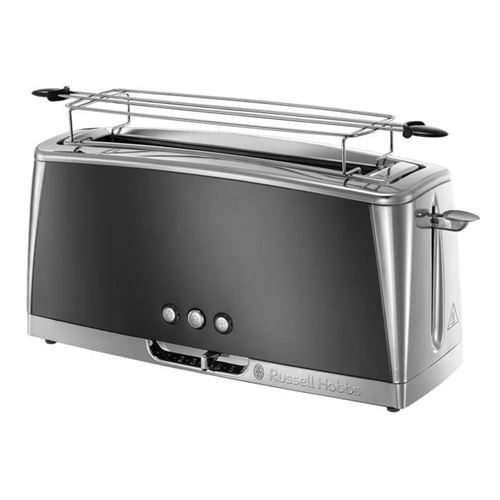 Russell Hobbs 23251-56 - Grille-pain Luna - Technologie Fast Toast - Gris Clair De Lune