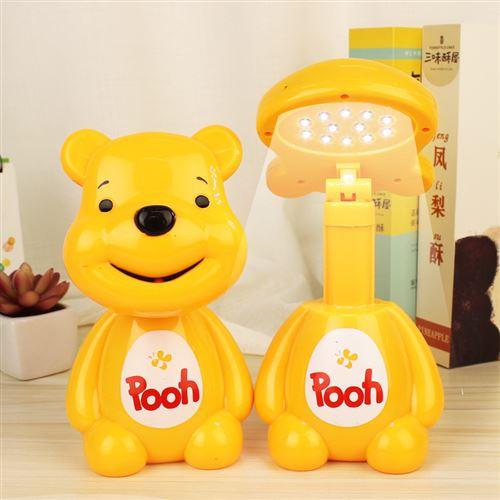 Lampe de table rechargeable à LED pour la protection des yeux-Winnie l'ourson