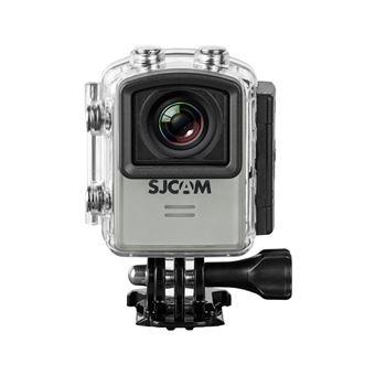 SJCAM M20 (Version Française) - Sport Action Camera 4K, 2K, WIFI, étanche 30 m, 16 MP, écran 1.5″, 16 Accessoires inclus - Couleur argent