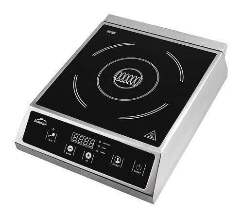 Lacor professionnelle 69337 – Plaque induction 2700 W, noir