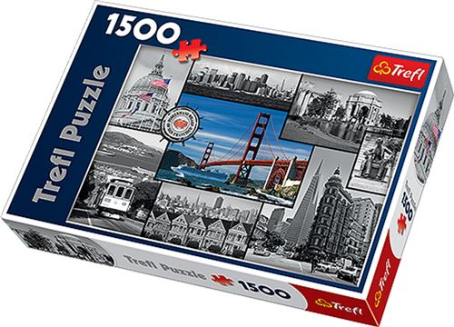Puzzle San Francisco 1500 Pièces