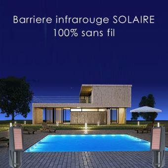 iProtect - Barrière infrarouge solaire 30m - Équipements et sécurité ...